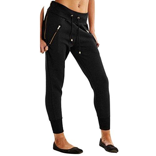 Frauen Leggings, bescita New Fashion Sports Workout zugeschnitten Leggings Fitness Lounge Athletic Pants, schwarz (Belted Bikini-badeanzug)