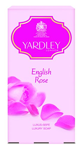 Yardley London English Rose Soaps 3 x 100g