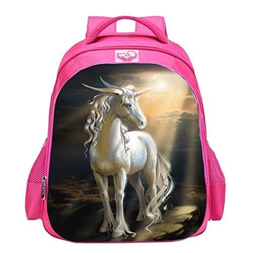 t School Rucksäcke, Jungen und Mädchen Mode Unicorn Geschenke Regenbogen Taschen, Einhorn gedruckt Rucksäcke Lustige Reisegepäck lässig Daypacks (Farbe : Style B) ()