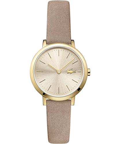 Lacoste Womens Analogue Classic Quartz Watch with Leather Strap 2001049