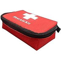 Gugutogo Bolsa de Supervivencia de Emergencia Faly Kit de Primeros Auxilios ni Kits de Viaje Deportivos portátiles Bolsa de Bolsa médica para el hogar Bolsa de Rescate al Aire Libre