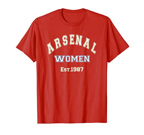 outlet store 50702 73467 Arsenal Womens Jersey English Ladies Soccer Gunners Gift T-Shirt
