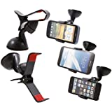 SuperClaw Universel support de voiture pour téléphone mobile Apple iPhone4/4S, iPhone5, Samsung Galaxy S3, Apple iPod touch, GPS(garantie de libre 2 ans)
