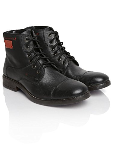 Alberto-Torresi-Men-Black-Leather-Casual-Shoes