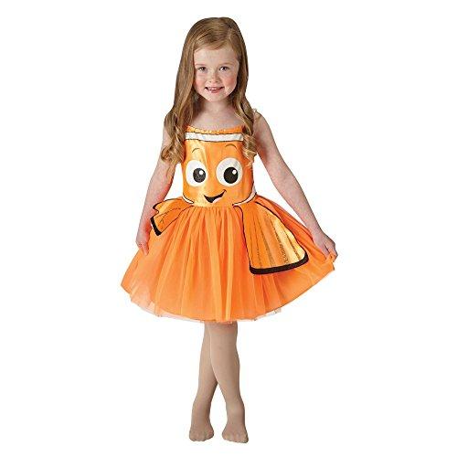Rubie's 3620784 - Nemo Tutu Dress Classic - Child, Verkleiden und Kostüme, XS (Disney Duo Kostüm)