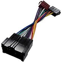 Aerzetix - Cavo adattatore convertitore E8 con connettore ISO per autoradio .