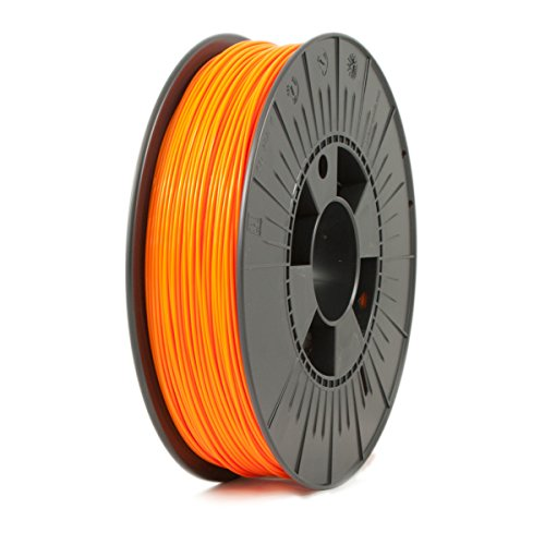 ICE FILAMENTS ICEFIL1ABS085 ABS Filament, 1,75 mm, 0,75 kg, Obstinate Orange