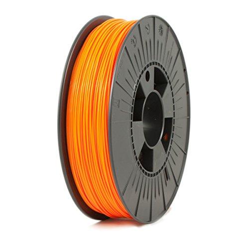 ICE FILAMENTS ICEFIL1PLA112 PLA Filament, 1.75 mm, 0.75 kg, Obstinate Orange