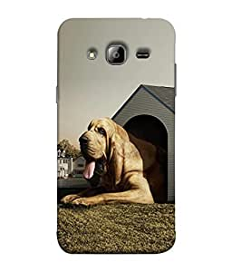 PrintVisa Designer Back Case Cover for Samsung Galaxy J5 (2015) :: Samsung Galaxy J5 Duos (2015 Model) :: Samsung Galaxy J5 J500F :: Samsung Galaxy J5 J500Fn J500G J500Y J500M (Pets bulldog home nature animals)