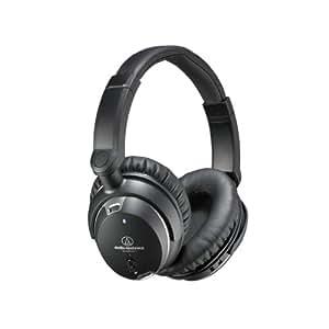 Audio Technica ATH-ANC9 On-Ear-Kopfhörer schwarz