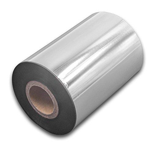 vhbw wischfest Thermotransfer-Band schwarz 90mm 300m für Drucker Etikettendrucker Citizen CLP-621, CLP-631, CLP-7201e, CLP-8301, CLP-9001