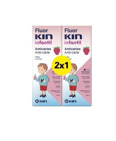 FluorKin Colutorio Infantil Anticaries Fresa 500ml
