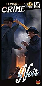 uplay Noir expansión para Chronicles of Crime, Multicolor, ccnr