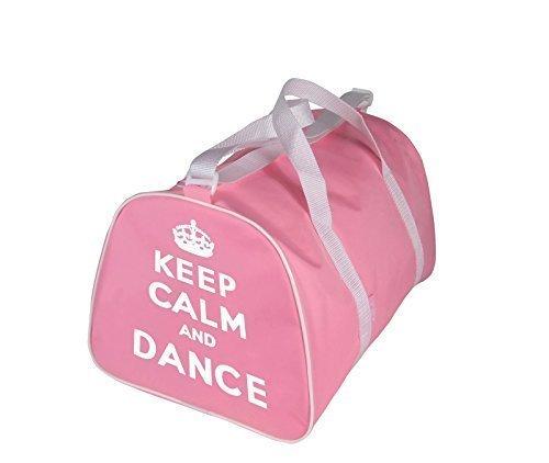 KEEP CALM AND DANSE Sac Fourre-tout pour danseur en rose, Rouge, noir ou bleu