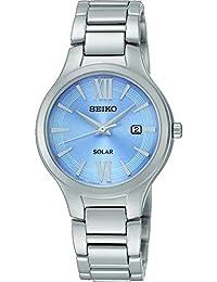 Seiko para mujer con esfera analógica y digital Solar FECHA SUT209P9