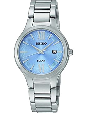 Seiko Solar Damen Datum Display Armbanduhr sut209p9