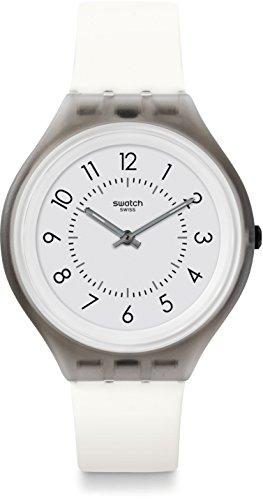 Swatch Reloj Digital para Unisex de Cuarzo con Correa en Silicona SVUM101