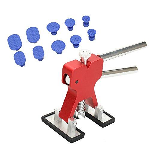 KKmoon 11pcs Saug-Zeichenwerkzeug von Autos Paintless Dent Repair Tools Kit Anzug von Auto - Panel Remover-tool