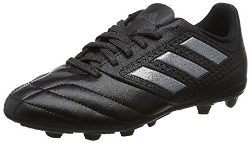 adidas Unisex-Kinder Ace 17.4 FxG Fußballschuhe, Schwarz (Core Black/Core Black/Utility Black), 37 1/3 EU (Fußball Schuhe Kinder)