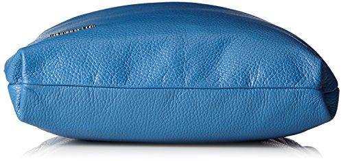 Mandarina Duck Mellow Leather Tracolla, sac bandoulière Bleu nuit