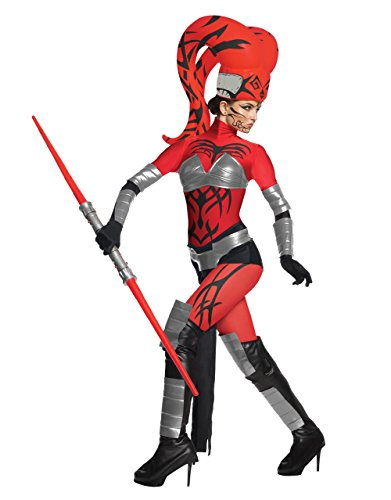 Star Wars Damen Kostüm Darth Talon Alien Sith - Gr. M/L (Star Wars Darth Talon)