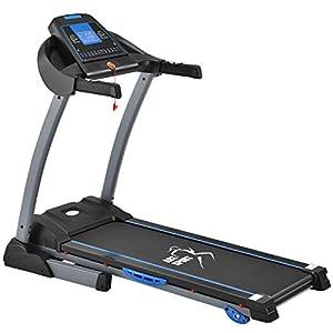 ArtSport Laufband Speedrunner 3500 elektrisch klappbar 14 km/h | 24 Programme | LCD Display | bis 150 kg belastbar | Heimtrainer Fitnessgerät