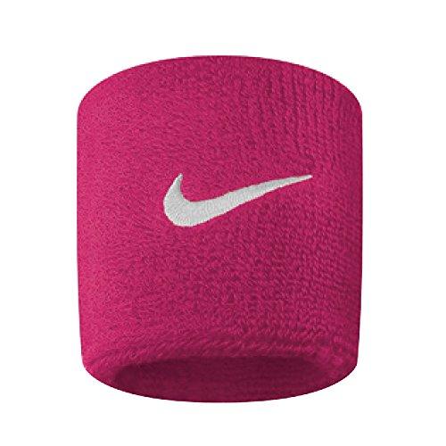Nike schweissbã ¤ nder swoosh, 9380–639, unisex, swoosh, rosa/bianco, 0