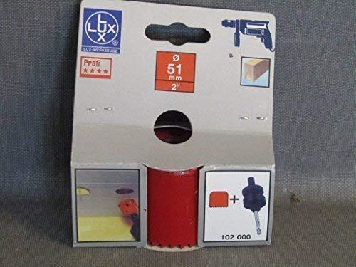 LUX 102051 Lochsäge für Durchmesser 51 mm PROFI