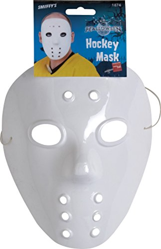 y Maske, One Size, Weiß, 1874 (Hockey Spieler Kostüme Für Halloween)