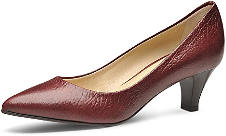 Evita Shoes Claudia Escarpins Femme grainé Cuir grainé Femme Bordeaux 35B016X5C3AKParent 7edf9c