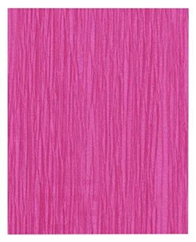 Clairefontaine Papier MALIDOR Rolle, 75Prozent Krepppapier, cyclamen/pink, 2,50x 0,50m, 10Stück Blatt