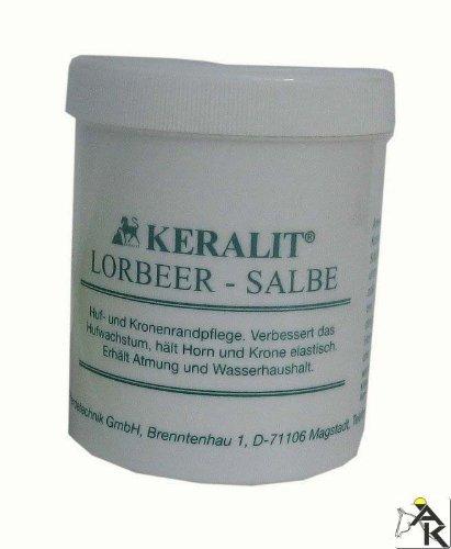 Keralit Lorbeersalbe 300 ml verbessert Feuchte, Elastizität von Horn, Kronenrand und Saumband