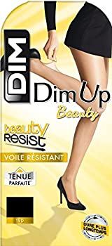 Dim Up Beauty Resist - 1 paire de Bas autofixants - Jarretière dentelle - 20 deniers - Femme