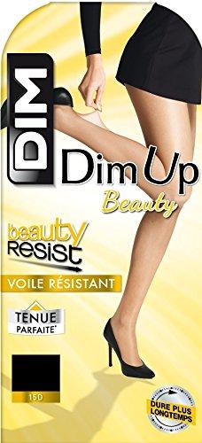 Dim Up Beauty Resist - 1 paire de Bas autofixants - Jarretière dentelle - 20 deniers - Femm