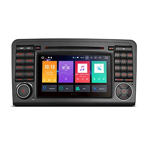 "XTRONS 7"" Auto Touchscreen Autoradio Auto DVD Player mit Android 8.0 Octa-Core Auto Autostereo unterstützt 3G 4G Bluetooth 4GB RAM 32GB ROM DAB & OBD2 TPMS FÜR Mercedes-Benz"