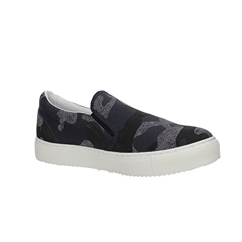 AJ Armani Jeans 935064 Slip On Uomo CAMOUFLAGE BLU 45 a8bd703bb83
