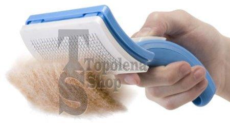 Zoom IMG-2 tradeshoptraesio petzoom spazzola autopulente pettine