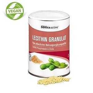 Lecithin Granulat | vegan | Nahrungsergänzungsmittel | ascopharm | 400 g