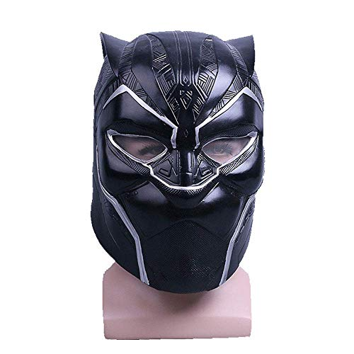 YaPin 2018 Marvel Film Panther Helm Maske Halloween Helm Maske Film und Fernsehen Requisiten Cosplay