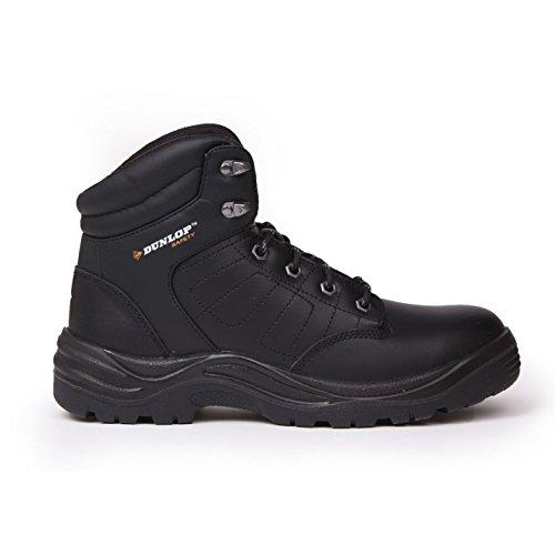 Dunlop Herren Jungen Dakota Arbeitsstiefel Sicherheitsschuhe Stiefel Schuhe Schwarz 5 (38)