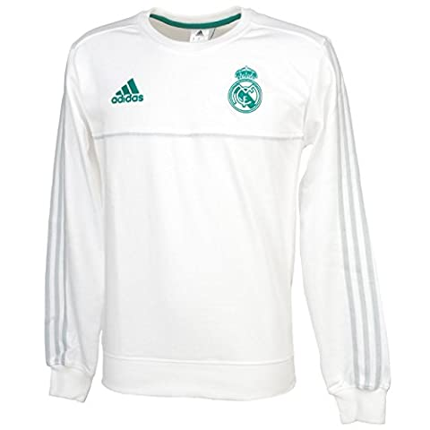 Adidas SWT - Sweat-shirt Real Madrid, homme XS blanc