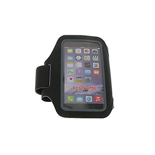 Generic Handy Sport Armband Laufen Armband Handy Tasche Hülle Case Touch Screen Schirmschutz für Joggen, Running, Farben und Größen Auswählbar, Geeignet für Apple iPhone 7/7 Plus - schwarz 5,5 Zoll schwarz 4,7 Zoll