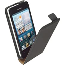 yayago 2818-W - Funda cartuchera para Huawei Ascend Y300, negro