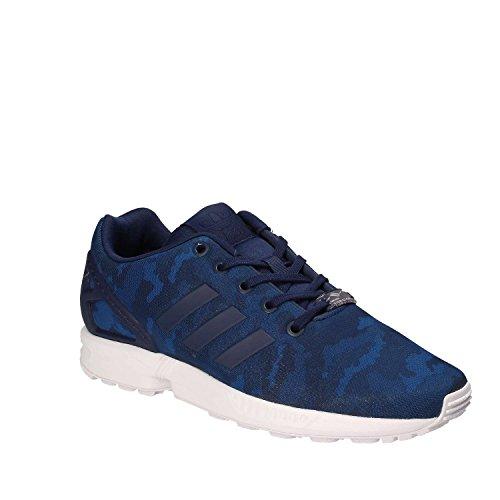 adidas Chaussures ZX Flux Bleu Garçon Bleu