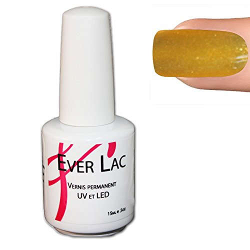 Nails & co - Vernis Permanent Ever Lac - - Yellow Pearl (052)
