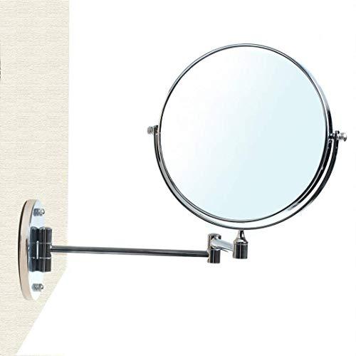 HIMRY® Cosmética Espejo, Espejos para baño, Espejo de Mesa, 8 Pulgadas, Espejo 360 ° de rotación...