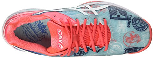 Asics Damen Gel-Solution Speed 3 L.e Paris Laufschuhe Mehrfarbig (Diva Blue/white/dive Pink)