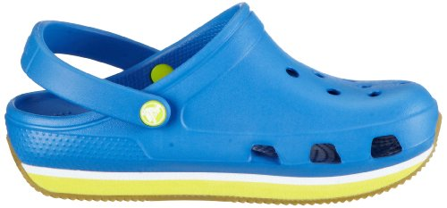 Crocs Retro, Sabots mixte enfant Bleu (Varsity Blue/Burst)