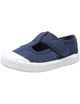 Victoria Sandalia Lona Tintada Velcro - Zapatillas de Deporte Unisex niños