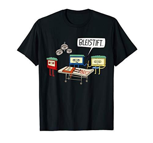Tshirt Arzt Kostüm - Retro Kassetten Kostüm OP Arzt Operation Lustiges 80er T-Shirt